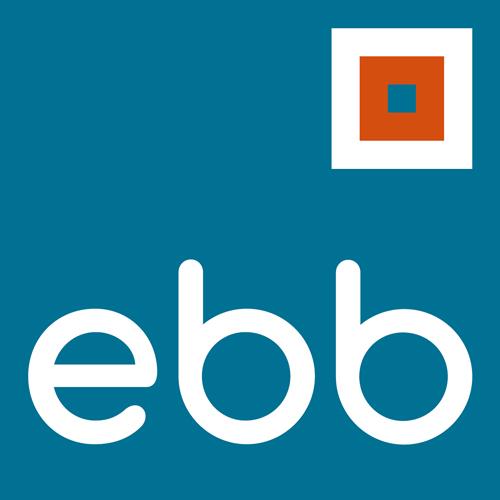 Logo: ebb Entwicklungsgesellschaft für berufliche Bildung mbH